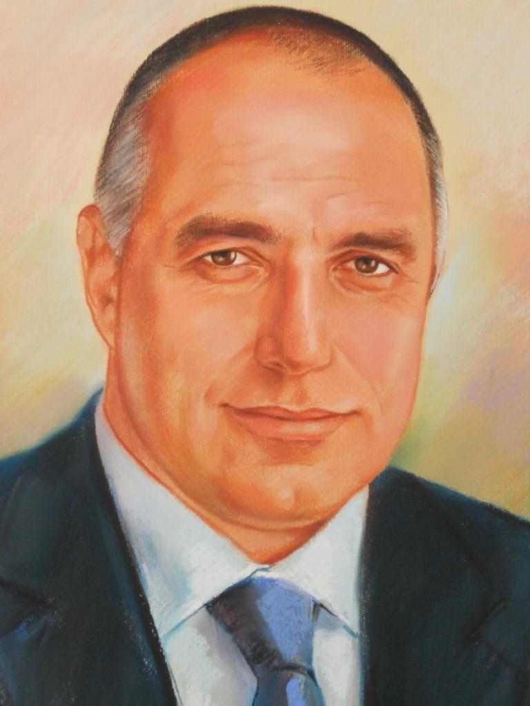 портрет на Бойко Борисов