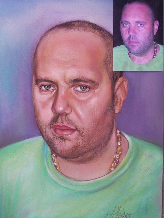 Портрет на Приятел по Снимка