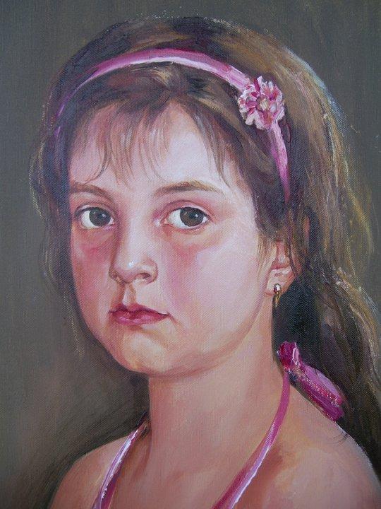 Портрет на дете от снимка