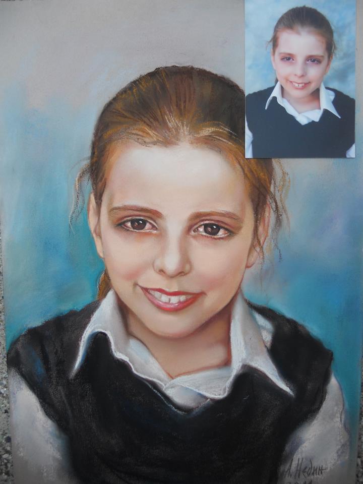 Портрет на Дете по Снимка