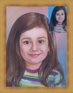 Рисуване на Детски Портрет от Снимка