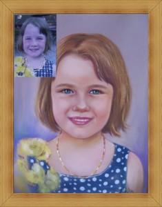 Рисуване на Детски Портрет по Снимка