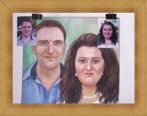 Рисуване на Семеен Портрет по Снимка