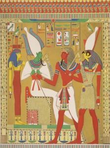Рисуване в Древен Египет
