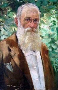 Иван Мърквичка Автопортрет