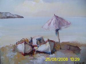 Картина с Две Лодки