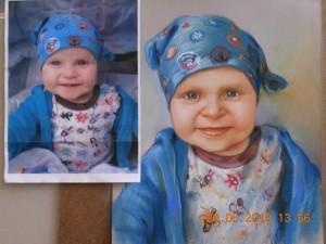 Портрет по снимка за подарък