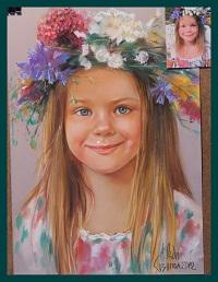 детски портрет по снимка