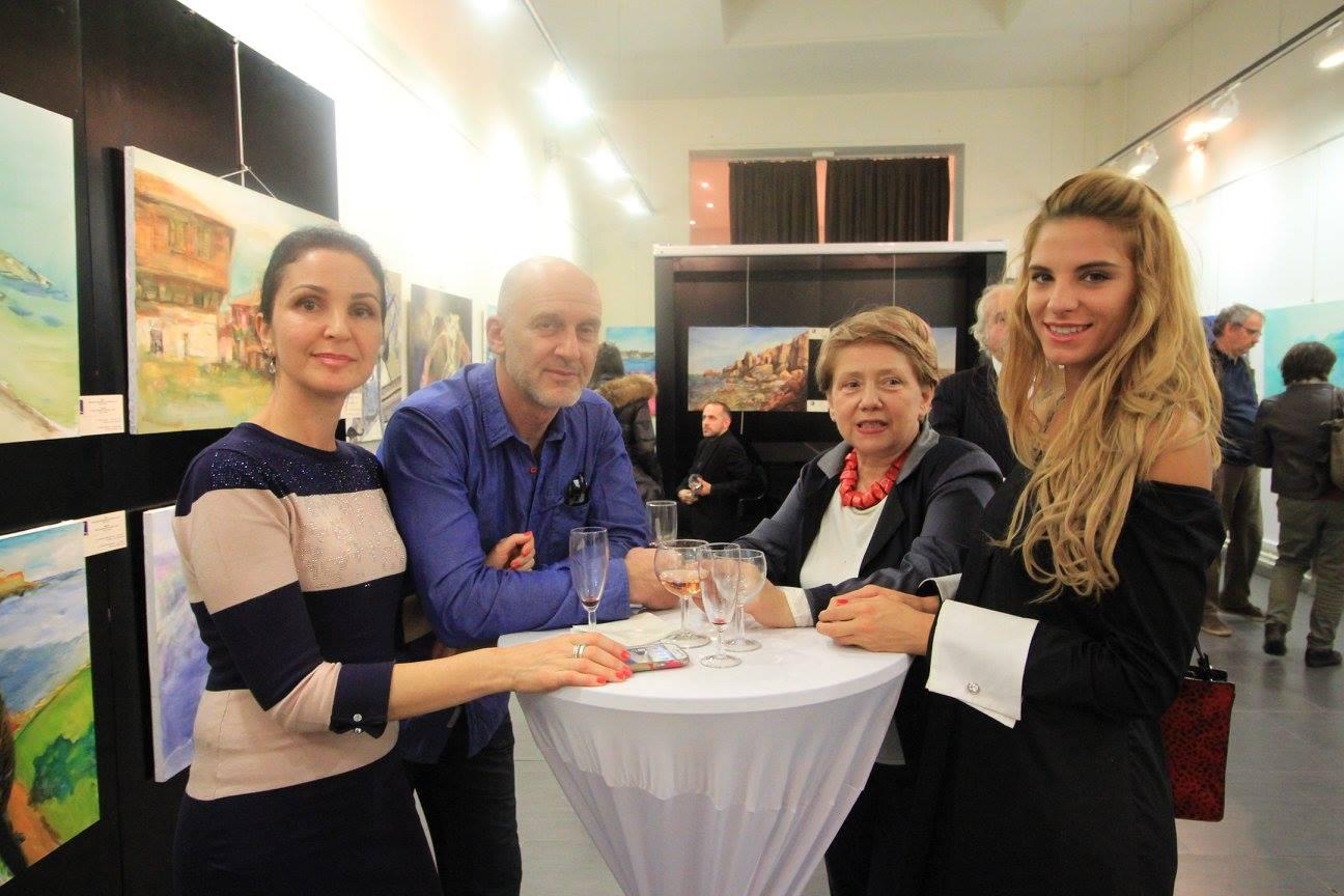 Angelina Nedin-Institut Culturel Bulgare,SOUFFLE DE MER-Париж-2015-myportret.com-1