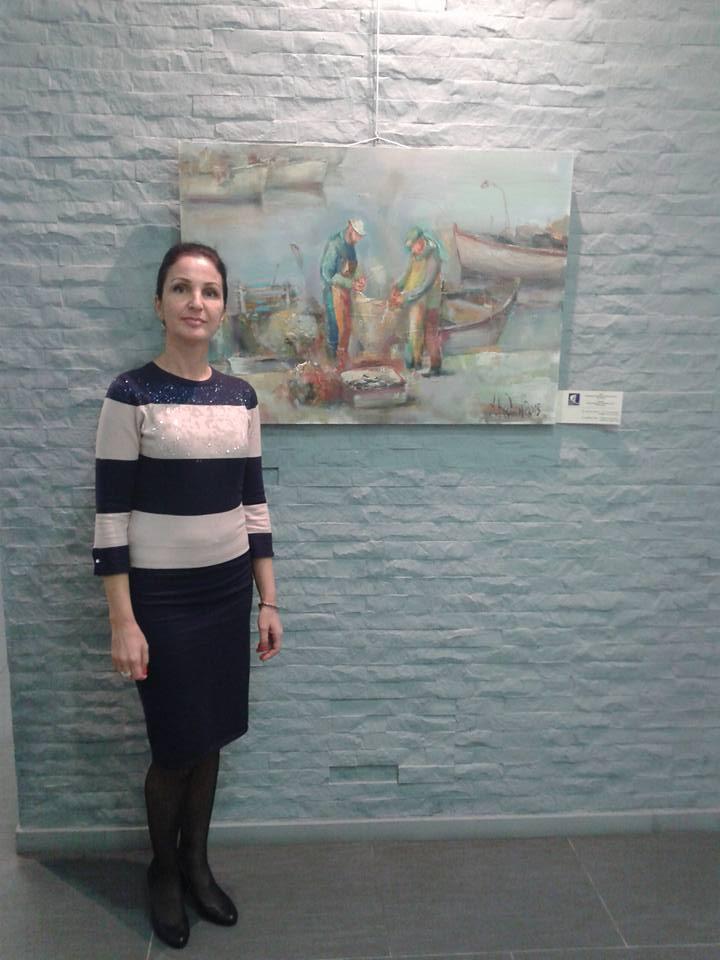Angelina Nedin-Institut Culturel Bulgare,SOUFFLE DE MER-Париж-2015-myportret.com-7